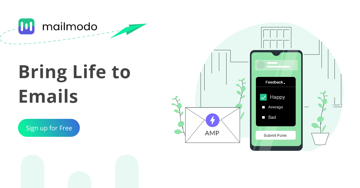 Add web forms, calendar, cart & APIs inside your marketing emails so that your users can take action without leaving the inbox. Unlike traditional